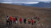 With poetry and letter to future, Iceland performs funeral for lost Okjokull glacier