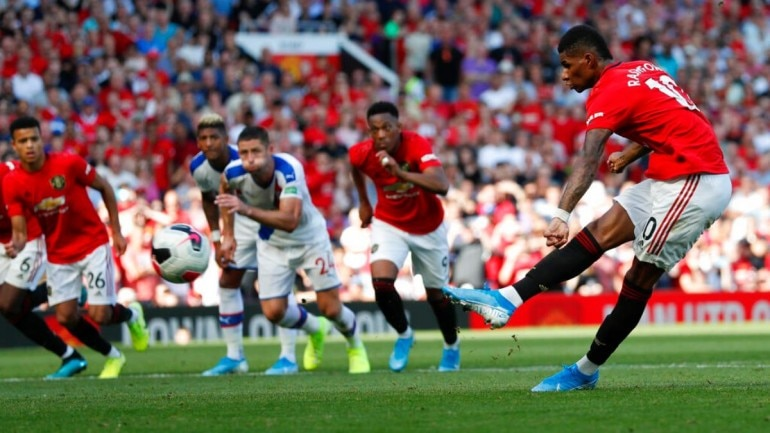 Image result for Rashford penalty crystal palace on racism