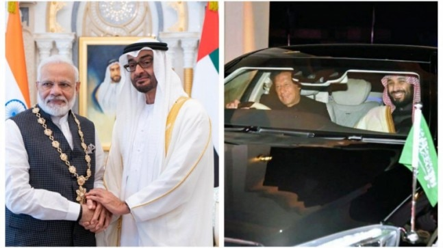 PM Modi awarded UAE honour, Imran Khan awarded 5-star Uber rating: Pak PM mocked for driving Saudi Prince