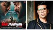 The boys look kadak: Karan Johar gushes over Sidharth Malhotra and Riteish Deshmukh's Marjaavan posters