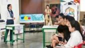 AajTak initiative to promote Hindi among students