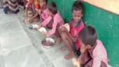 UP: Children at Mirzapur primary school served salt with chappatis in mid-day meal