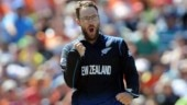 Former New Zealand captain Daniel Vettori's jersey number 11 retired