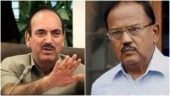 Paid actors: Anyone will back you for money, says Ghulam Nabi Azad on video of Ajit Doval eating with Kashmiris