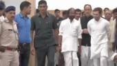 Rahul Gandhi-led opposition delegation sent back from Kashmir, media roughed up