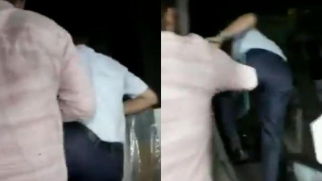 WATCH: Dramatic scenes at Chidambaram house, CBI team jumps over wall to enter residence