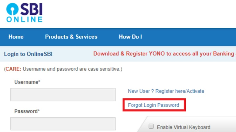 This is how you can reset your SBI net banking password - Information News