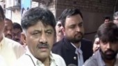 DK Shivakumar appears before ED in money laundering case