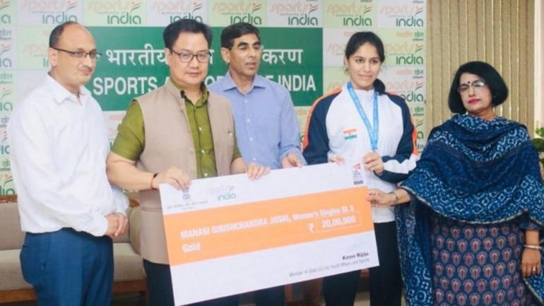 Manasi Joshi won gold medal at Para-badminton World Championships.