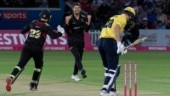 WATCH: Leicestershire's Colin Ackermann sets T20 world record with seven-wicket haul