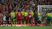 Liverpool thump promoted Norwich City in Premier League opener
