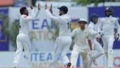 SL vs NZ 1st Test, Day 1: Akila Dananjaya takes five to put New Zealand on back foot
