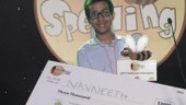 Indian-American teen wins $3,000 in South Asian Spelling Bee competition