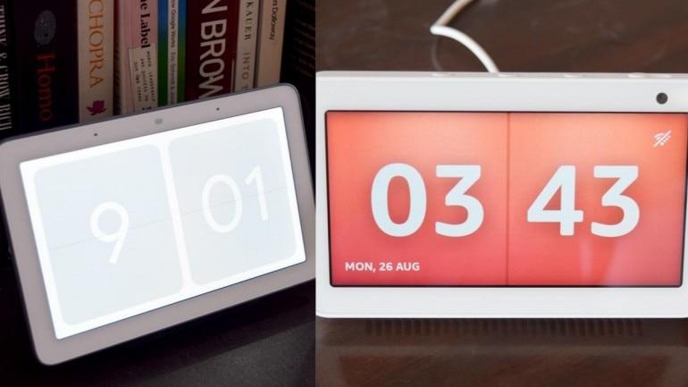 Google Nest Hub Vs Amazon Echo Show 5 Which Smart Display Should