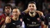 Premier League: 'Security incidents' see Ozil, Kolasinac miss Arsenal opener