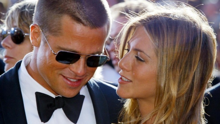 Jennifer Aniston and ex-hubby Brad Pitt are in touch and