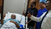 Rajinikanth takes a break from Darbar shooting to visit his ailing brother in Bengaluru. See pics