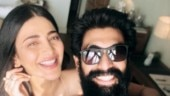 Shruti Haasan plays foot-tapping number in parai. Rana Daggubati loves it