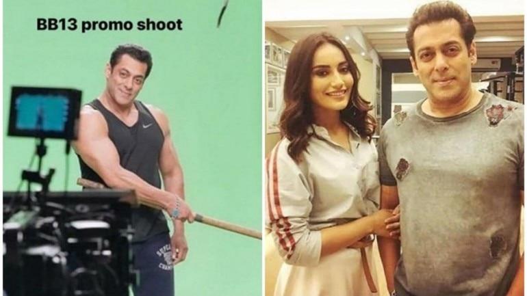 Bigg Boss 13 Promo Shoot Salman Khan Flirts With Surbhi