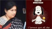 Smriti Irani's hilarious post on inner peace is all of us every Monday morning. Seen yet?