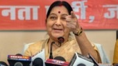 When Sushma Swaraj threatened to shave off her head
