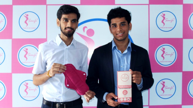 These two IIT Delhi boys created a reusable, biodegradable