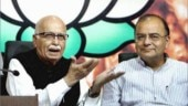LK Advani visited Arun Jaitley