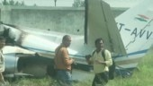 Private aircraft crashes at Aligarh Dhanipur airstrip, 6 people onboard jet