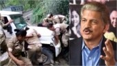 Nagaland women batallion push Mahindra car out of ditch in viral video. Anand Mahindra has best reply