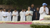 Rajiv Gandhi birth anniversary: Top Congress leaders pay tributes to former PM