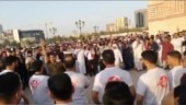 Bahrain takes action against Pakistanis who held rally for Kashmir after Eid prayers