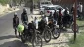 Ladakh-bound bikers sent back from Kashmir Valley