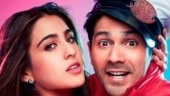 Coolie No 1: Varun Dhawan shares first-look posters on Sara Ali Khan's birthday