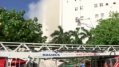 MTNL building fire: Officials face FIR for non-functional fire system
