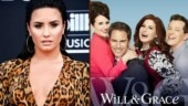 Demi Lovato returns to acting, shares happy picture from Will & Grace sets