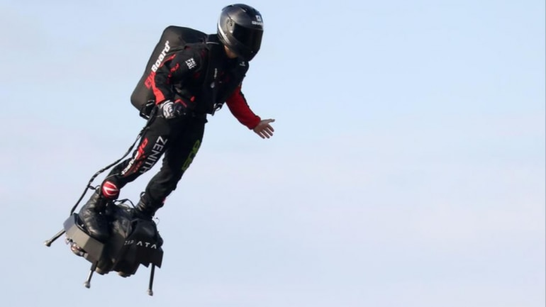 Image result for Jet speed Hoverboard discovered by French man