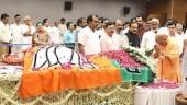 Yogi Adityanath pays tribute to Sushma Swaraj