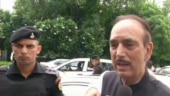 Ghulam Nabi Azad stopped at Jammu airport, sent back