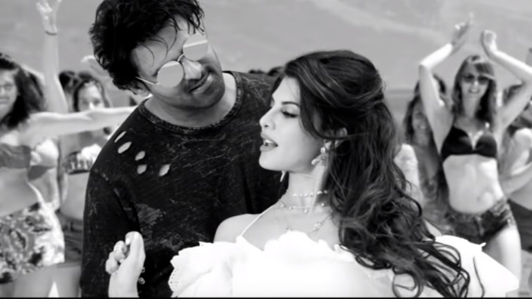 Image result for jacqueline fernandez and prabhas in saaho