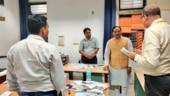 HRD Minister Ramesh Pokhriyal inspected ICHR, ICSSR, and UGC offices