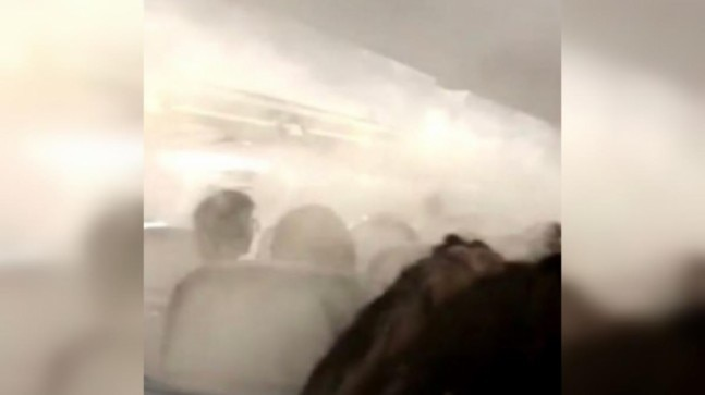 Thick fog fills Delta Plane cabin before takeoff to New York. Crew didn't explain, says passenger