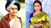 Vidya Balan on why she decided to make web series on Indira Gandhi