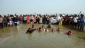 Jal Satyagraha: UP villagers stand in knee-deep water to demand bridge over Ganga