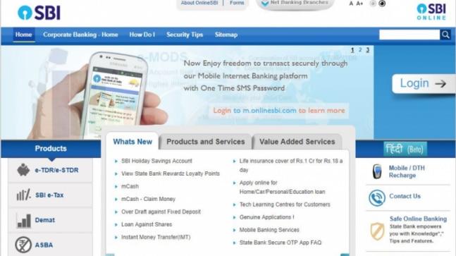 internet banking app sbi