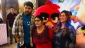 Kapil Sharma goes on a movie date with pregnant wife, and mother. See pics