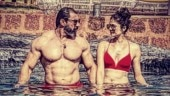 Pooja Batra in red bikini gets into the pool with shirtless Nawab Shah. Seen the viral pic yet?