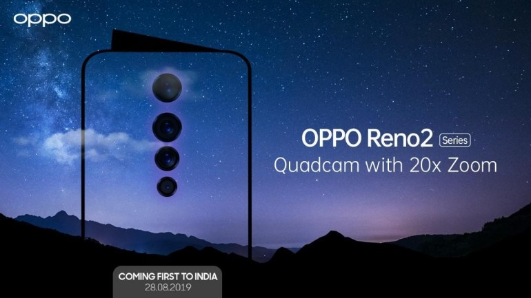 Oppo Reno 2 launch date in India set for August 28, will