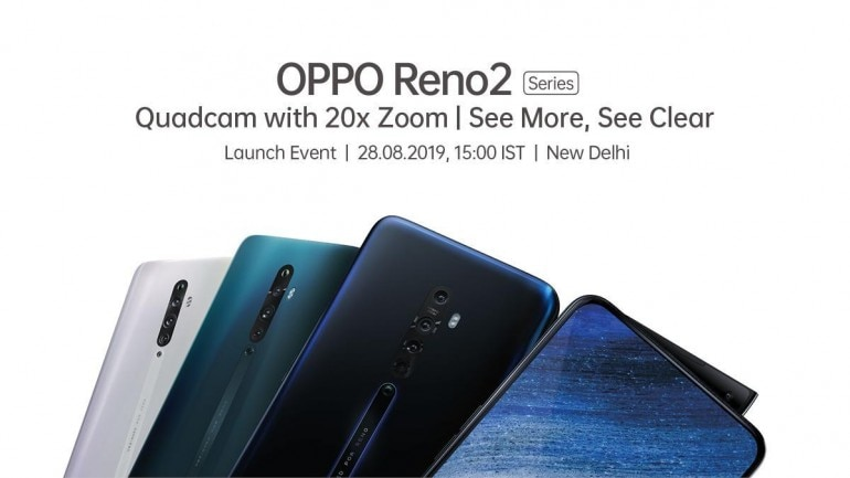 Oppo Reno 2 launch event livestream