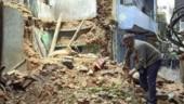 Delhi: 4 injured in house collapse
