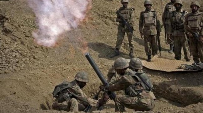 Pakistan shells forward posts, villages along LoC in Poonch for 3rd day